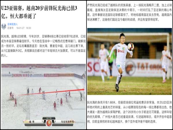 Quang Hải được định giá 50 triệu USD