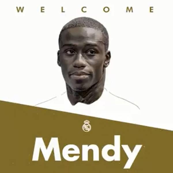 Chào mừng Mendy đến Bernabeu