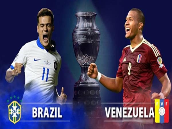 Nhận định Brazil vs Venezuela, 07h30 ngày 19/06