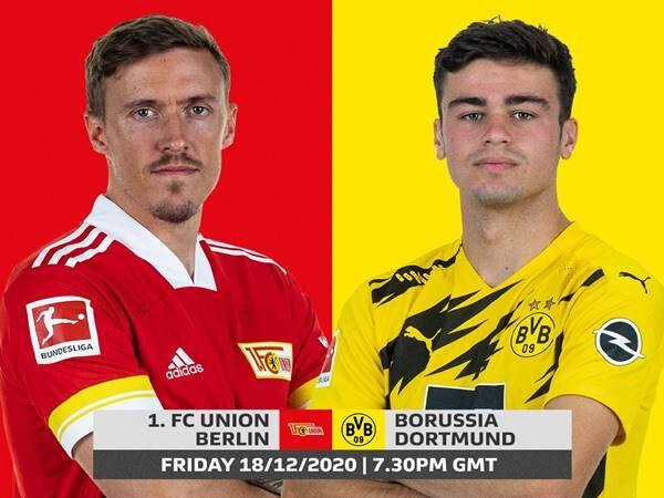 Nhận định Union Berlin vs Dortmund, 02h30 ngày 19/12