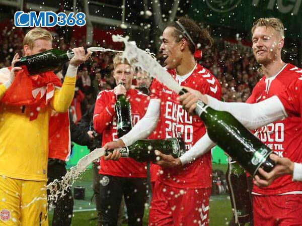 Đan Mạch thi đấu xuất sắc tại vòng loại Euro