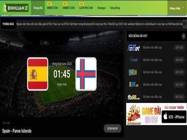 Bóng đá trực tuyến: Top 10 trang web xem nhanh nhất