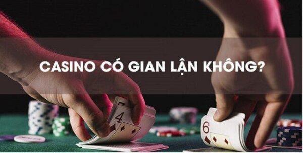 Liệu Casino trực tuyến có gian lận không?